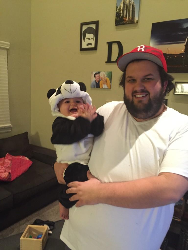 panda baby costume