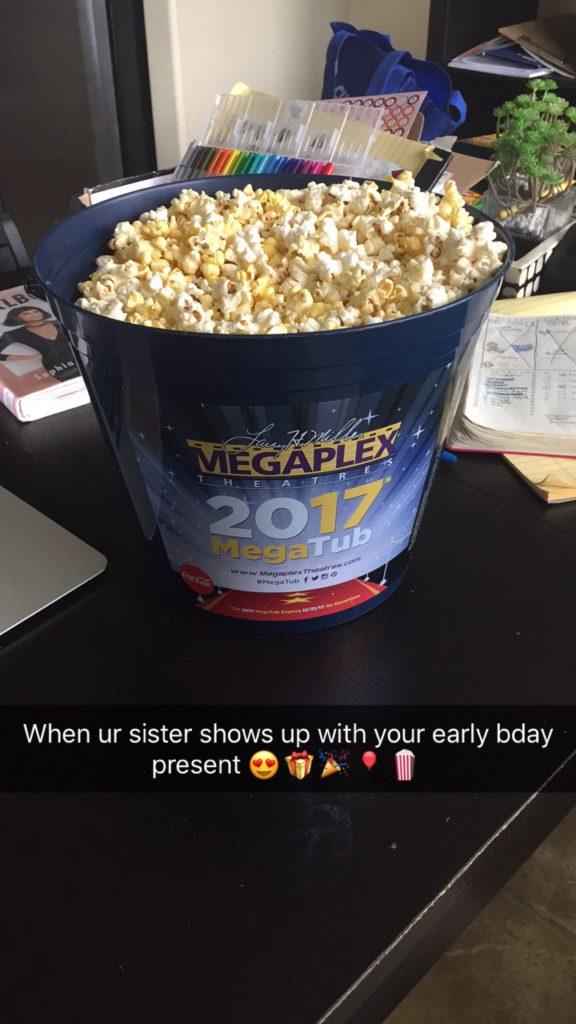 refillable movie popcorn