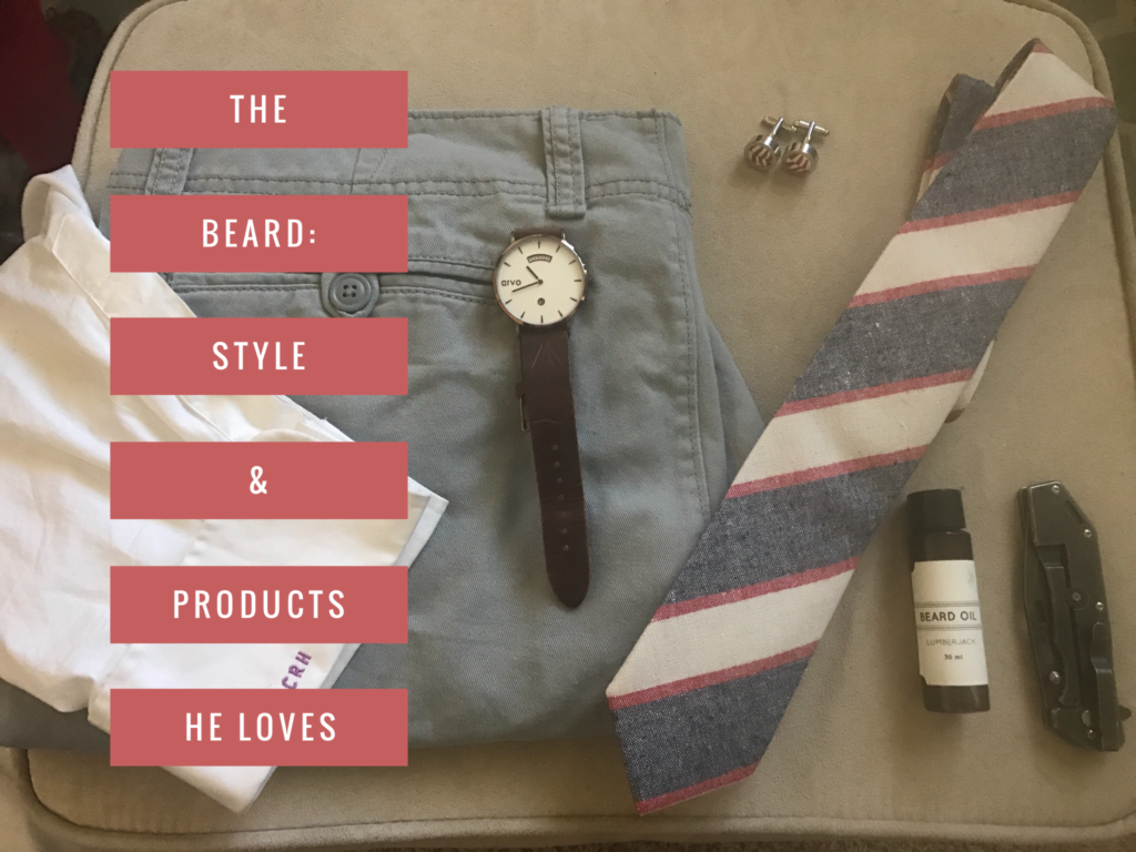 The Beard: Style & Products He Loves