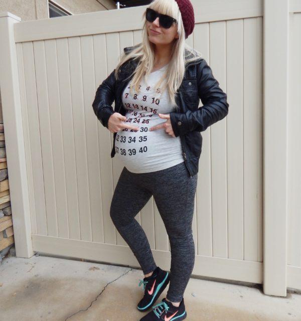 Pregnancy Countdown Tee