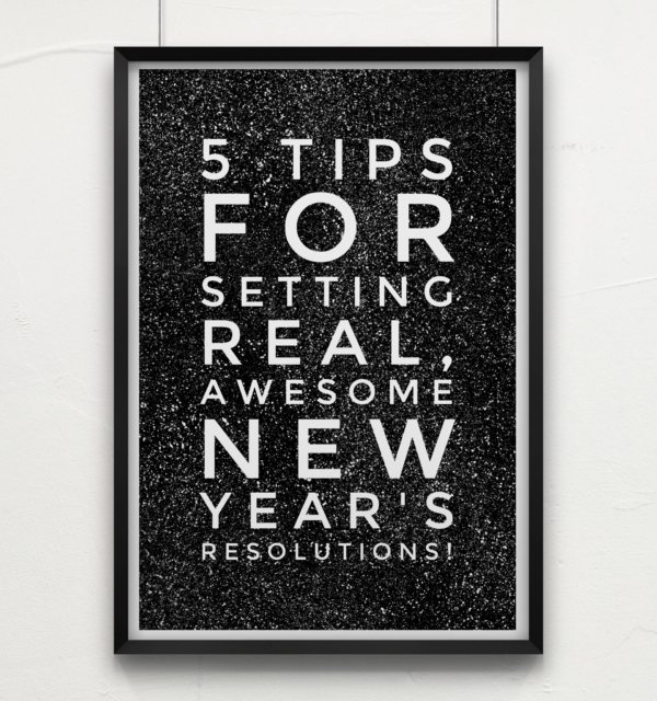 New Year Resolution tips