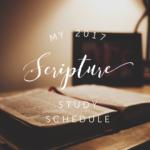 scripture study ideas