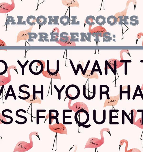 wash hair less