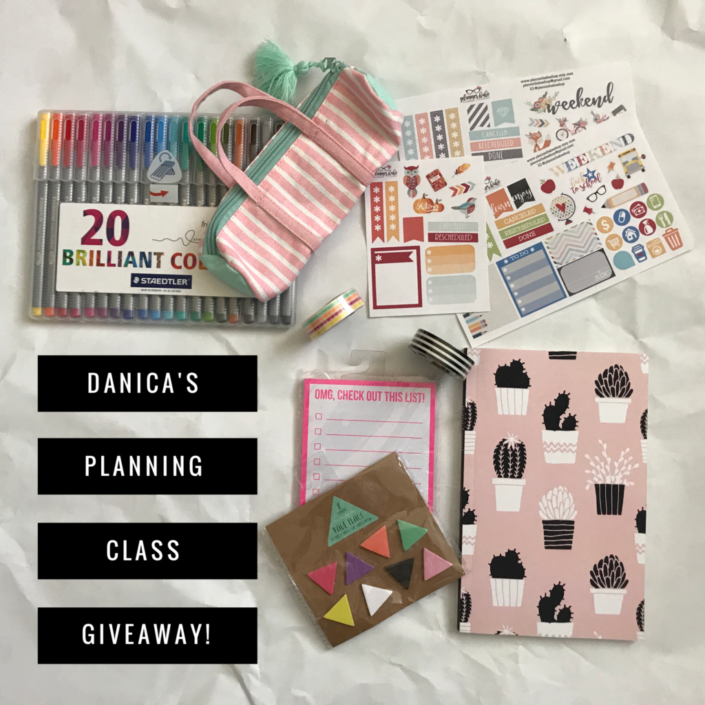 Danica's Online Planning Class – IT'S HERE!